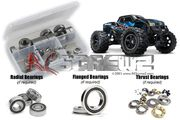 RCScrewz Traxxas X-Maxx 4x4 Truck Rubber Shielded Bearings