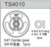 TeamC 54T Center Gear