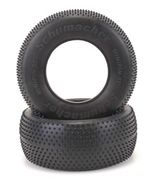 Schumacher Short Course Tyre - Mini pin - Yellow (Pair)