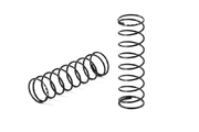 Xray Front Spring 69MM - 4 DOTS (2)