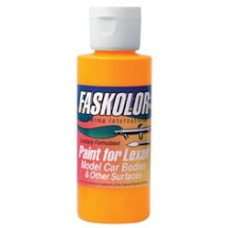 Faskolor Lexan Paint - 60ml - Fasfluorecent Flame Orange