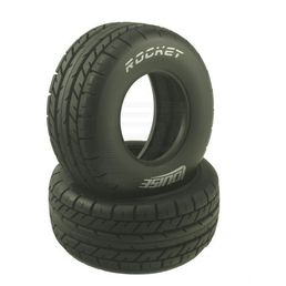 Louise SC-Rocket 1/10 SC On-Road Tire With Insert (2) - Soft