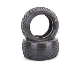 Schumacher Mini Pin 1 - Rear Tyres - Yellow (2)