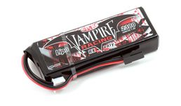 Vampire Racing 2300mAh 7.4V LiPo RX Straight Pack