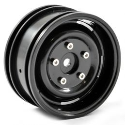 "FTX Outback 1.9"" Steel Lug Wheel (2) - Black"
