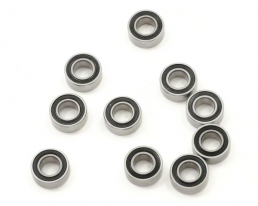 EuroRC Rubber Seal Deep Groove Ball Bearing 5x10x4mm MR105-2RS (10)