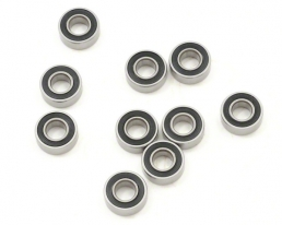 EuroRC Rubber Sealed 5x11x4MM MR115-2RS bearing (10)