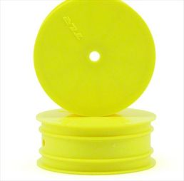 Team Losi Racing Front 1/10 Buggy Wheel (Yellow) (2) (TLR 22)