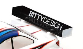 BittyDesign Rear Hard wing 1mm - Charge version [Universal]