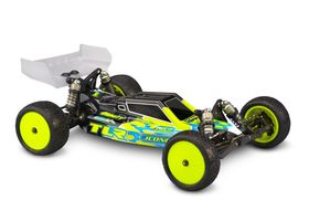JConcepts F2 - TLR 22 4.0 Body With Aero S-Type Wing (Clear)
