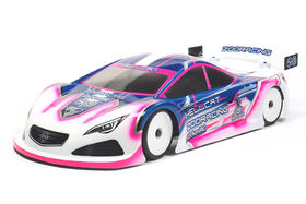 ZooRacing HellCat 1/10 TC 190mm Body - 0.5mm Lightweight