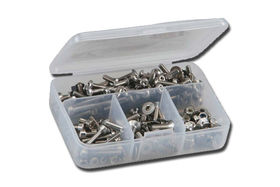 RCScrewz Xray XB8 EC Stainless Steel Screw Kit