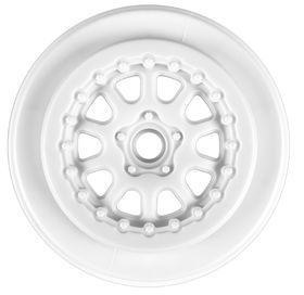 "Pro-Line Renegade 2.2""/3.0"" Wheel For SC10 Front  - White (2)"