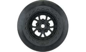 "Pro-Line Pomona Drag Spec 2.2""/3.0"" Black Wheels - Rear (2)"
