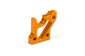 Xray T3 Alu Right Layshaft Bulkhead - Orange