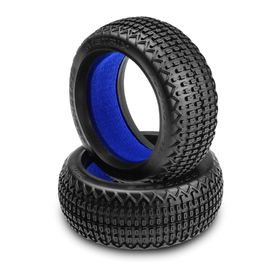 JConcepts Metrix 1/8th Buggy Tire (Green - Super Soft)