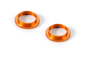 Xray Ulp Alu Shock Adjustable Nut - Orange (2)