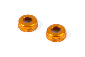 Xray Alu Cap For XRAY Shock Body #308322 - Orange