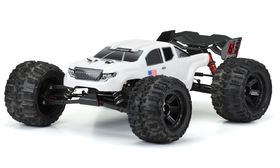 Pro-Line Pre-Cut Bash Armor Body For Arrma Kraton (White)