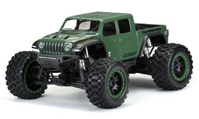 Pro-Line Pre-Cut Jeep Gladiator Rubicon Clear Body for X-Maxx