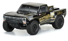 Pro-Line Pre-Cut 1967 Ford F-100 Race Truck Heatwave Edition Tough-Color (Black) Body
