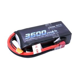 Gens ace 3600mAh 11.4V 3S1P 50C High Voltage Lipo Battery Pac T-plug