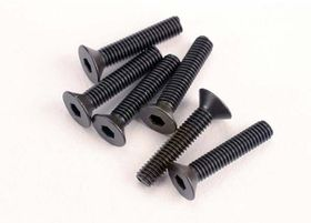 Traxxas Screws M3x15mm Countersunk Hex Socket (6)