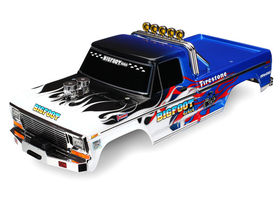 Traxxas Bigfoot Painted Body - Flames