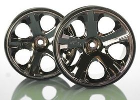 Traxxas Wheels All-Star 2.8inch - Black Chrome (2)