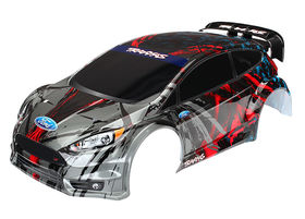 Traxxas Body Ford Fiesta ST Rally Painted 1/10
