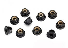 Traxxas Locknut 4mm Black (10)