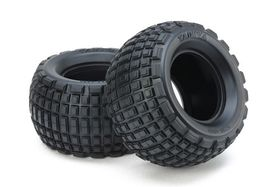 Tamiya ST Block Rear Bubble Tires (Soft/2pcs.)
