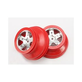 Traxxas Slash Wheels Red Bead - Rear (2)