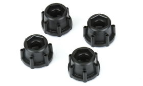 Pro-Line 6x30 to 17mm Hex Adapters (4)