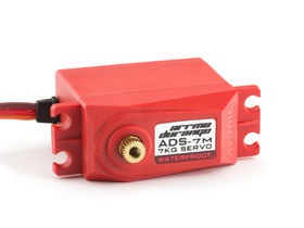 Arrma RC ADS-7M V2 7kg Waterproof Servo (Red)