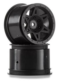 Arrma Raider Rear Wheel (Black) (2)