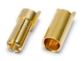 DynoMAX Connector Bullet 5.5mm Female + Male