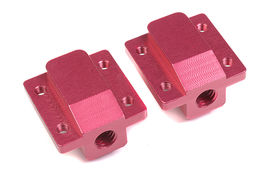 Team Corally Aluminum Pivot Ball Mounting Block B (2)