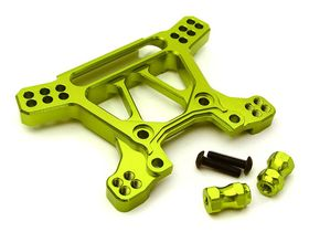Integy Billet Machined Alloy Front Shock Tower for Traxxas 1/10 Rustler 4X4