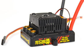 Castle - Sidewinder 8th ESC - Waterproof - 25.2V - 8A Peak BEC - 1:8 ESC