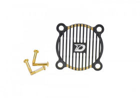 Dash  Cooling Fan Guard (30X30mm) Black Golden