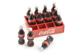 Fastrax Scale Soft Drink Crate W/bottles
