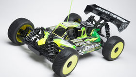 JQRacing THECar 1/8 Off-Road Nitro Buggy Kit (Black Edition)
