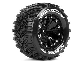"Louise Tire & Wheel Mt-Cyclone 2,8"" 1/2-Offset Black (2)"