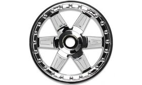 "Pro-Line Desperado 2.8"" (Traxxas Style Bead) Chrome Wheels - Front - (2)"