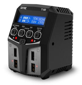 SkyRC T100 Charger 240VAC 0.1-5A 2x50W