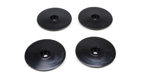 Team Losi Racing Wheel Disk for 22SCT - Black (4)