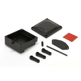 Vaterra Receiver Box and ESC Tray: ASN