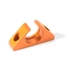 Xray X1 Alu Ball-Bearing Anti-Roll Bar Holder - ORANGE
