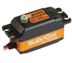 Savöx SC-1251MG 9kg/0.09 Low Profile Digital Servo